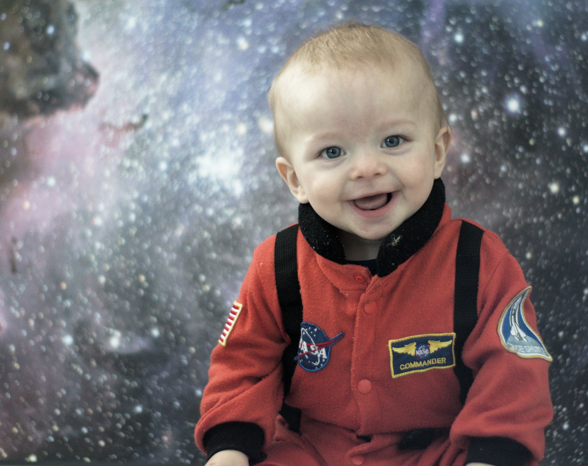 Leo in Space Suit